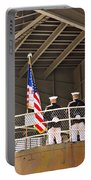 Navy Men Portable Battery Charger