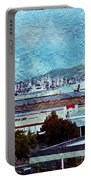 Navy Ships As A Painting Portable Battery Charger
