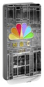 Nbc Facade Selective Coloring Portable Battery Charger