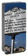 Nc-a43 Mount Lebanon Church Portable Battery Charger
