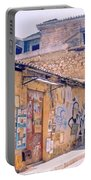 Near The Monastiraki In Greece Portable Battery Charger