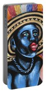 Negrito In Carnival 2 Portable Battery Charger
