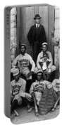 Negro Baseball Portable Battery Charger