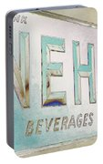 Nehi Ice Cold Beverages Sign Portable Battery Charger
