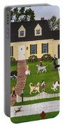 Neighborhood Dog Show Portable Battery Charger