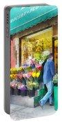Neighborhood Flower Shop Portable Battery Charger