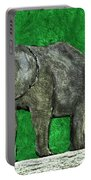 Nelly The Elephant Portable Battery Charger
