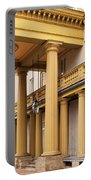 Neo Classical Columns Portable Battery Charger by Barbara McMahon