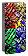 Neo Pop Art Urbanscape New York Sky View Portable Battery Charger