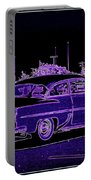 Neon Chevy Blues Portable Battery Charger