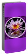 Neon Lotus Portable Battery Charger