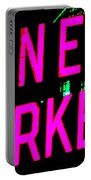 Neon New Yorker Portable Battery Charger