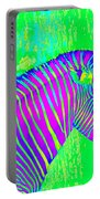 Neon Zebra 2 Portable Battery Charger