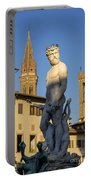 Neptune Statue - Florence Portable Battery Charger