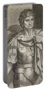 Nero Claudius Caesar Emperor Of Rome Portable Battery Charger