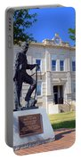 Ness County Courthouse In Kansas Portable Battery Charger
