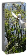 Nesting Great Egrets Portable Battery Charger