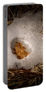 Nesting Leaf Portable Battery Charger