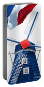 Netherland Windmill Portable Battery Charger