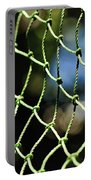 Netting - Abstract Portable Battery Charger by Kaye Menner