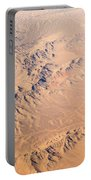 Nevada Mountains Aerial View Portable Battery Charger