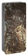 Never So Weary Never So Woeful Illustration To A Midsummer Night S Dream Portable Battery Charger