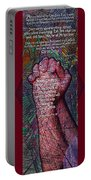 Never Stop Praying Portable Battery Charger