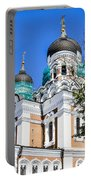 Nevsky Cathedral - Tallin Estonia Portable Battery Charger