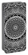 New Abstract Plaid Kaleidoscope Portable Battery Charger