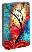 New Beginnings Original Art By Madart Portable Battery Charger