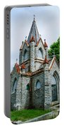 New England Cemetery Mausoleum Portable Battery Charger