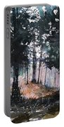 New England Landscape No.214 Portable Battery Charger