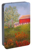 New England Red Barn Summer Portable Battery Charger