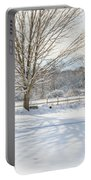 New England Winter Portable Battery Charger