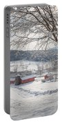New England Winter Farms Morning Portable Battery Charger