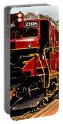 New Hope Ivyland Railroad With Cars Portable Battery Charger