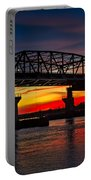 New Jersey Meadowlands Sunset Portable Battery Charger