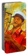 New Orleans Brass Band Portable Battery Charger
