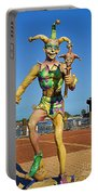 New Orleans Clown French Quarters Portable Battery Charger