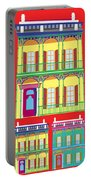 New Orleans Houses Portable Battery Charger
