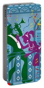 New Orleans Mardi Gras Balcony Portable Battery Charger
