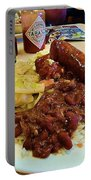 New Orleans Red Beans And Rice Portable Battery Charger