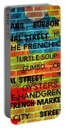 New Orleans Street Art Portable Battery Charger