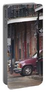 New Orleans Street Scene Portable Battery Charger