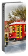 New Orleans Streetcar Paint Portable Battery Charger