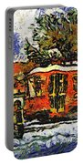 New Orleans Streetcar Paint Vg Portable Battery Charger