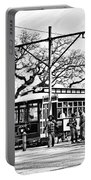 New Orleans Streetcar Silhouette Portable Battery Charger