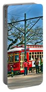 New Orleans Streetcar Portable Battery Charger