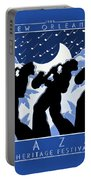 New Orleans Vintage Jazz And Heritage Festival 1980 Portable Battery Charger