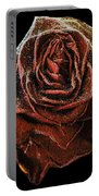 Perfect Gothic Red Rose Portable Battery Charger